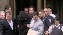 Raw: Motorcycle-SUV Melee Suspect Leaves Court