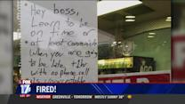 Man Fired After Note to Boss Goes Viral
