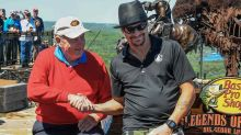 Jack Nicklaus and Kid Rock joined forces to beat two other golf legends