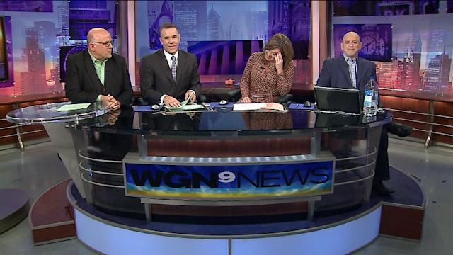 Anchors lose it after satellite interview with Nick Carter fails