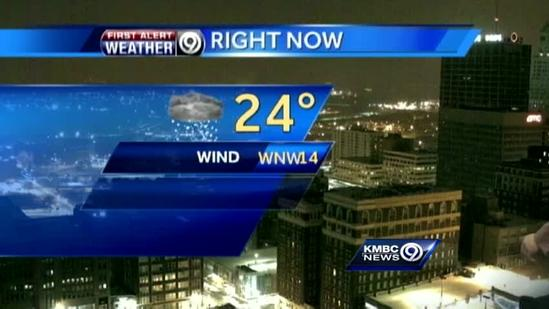 Cooler temps cause slick spots on some roadways, parking lots