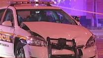 East Liberty Police Crash