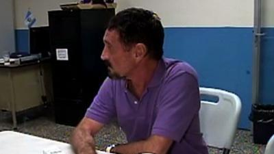 John McAfee Arrested in Guatemala