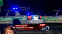 Search on for 1 of 2 suspects after chase