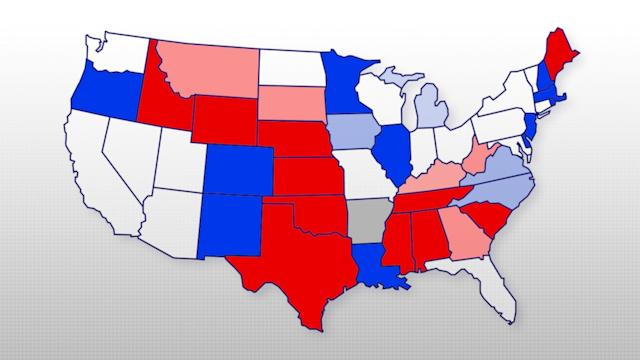 Redrawing The Map: The 2014 Races That Will Tip The Political Balance