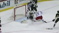 Johnson scores off Dubinsky's brilliant play