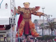 Giant statue of Trump as Warhammer warrior revealed at parade in Italy