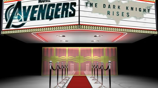 Avengers vs. Dark Knight Rises - Box office brawl
