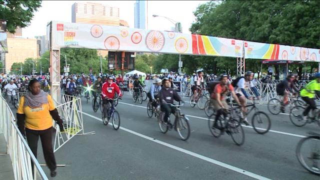 Bike the Drive kicks off summer cycling season in Chicago
