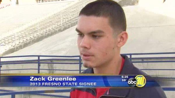 Top Fresno St. Recruit Attends Sweeney Memorial