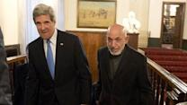 Karzai accuses US of atrocities - to John Kerry's face