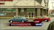 Police: 1 injured in shooting outside SE KC store