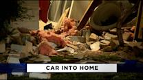 Husband Crashes Car Into His Cedar Hill Home