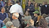 Christie Gets Down on One Knee to Win Over Undecided Voter