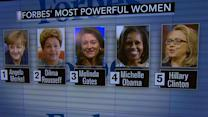 "Forbes' ""Most Powerful Women"" list released"