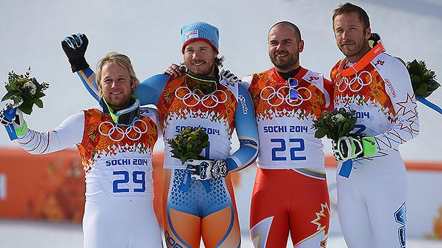 Americans 'push limits' for podium in Super G