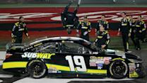 Ride along as Edwards flips out after 600 win