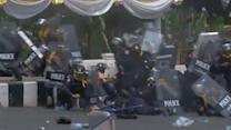 Casualties in Thai protest crackdown