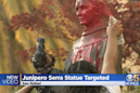 Archbishop of San Francisco performs exorcism ceremony at site of vandalized Saint Junipero Serra statue