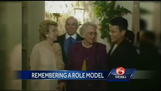 Louisiana remembers the life and legacy of Lindy Boggs