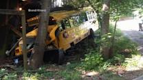 More Than a Dozen Children Hurt After a School Bus Accident in North Carolina