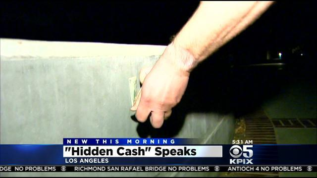 Mystery Millionaire Behind @HiddenCash Caught Making First Money Drops In Los Angeles