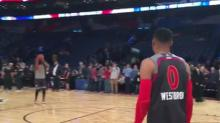James Harden won't leave Russell Westbrook's side before All-Star Game