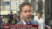 Eurogroup President: No new proposals from Greece