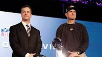 Harbaugh Brothers Relaxed Before Big Showdown