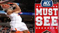 UVA's Justin Anderson Soars For Alley-Oop   ACC Must See Moment