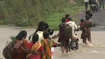 Raw: Indian Officials: Few Deaths in Big Cyclone