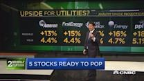 Utility stocks about to pop