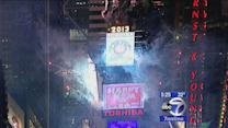 Crowds in NYC get ready for the ball to drop!