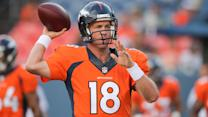 When can you entertain selecting Peyton Manning?