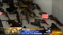 Gun, golf, gambling tax hikes in Cook Co. budget
