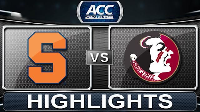 Syracuse vs Florida State | 2013 ACC Football Highlights