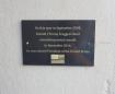 """Quelqu'un a installé une plaque commémorative là où Trump s'est vanté d'attraper les femmes par le """"pussy"""""""