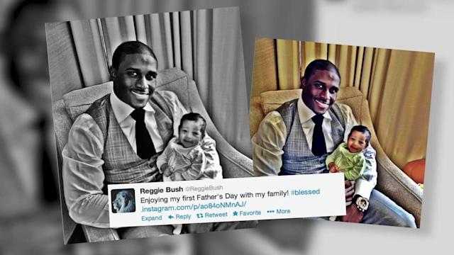 Kim Kardashian's Ex Reggie Bush Introduces Baby Daughter Briseis