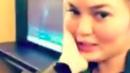 Chrissy Teigen Live-Tweets Nightmare Flight After Bizarre Passenger Mishap