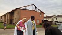 Townhomes destroyed by two fires