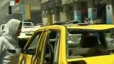 Syrian TV: Damascus Blast Kills 13 People