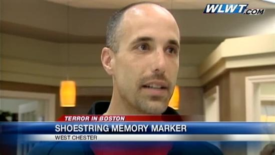 West Chester jeweler makes commemorative marker for Boston victims