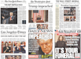 How newspapers around the country covered Trump's impeachment