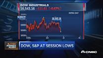 Market heads lower ahead of close