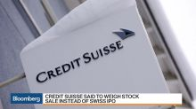 Credit Suisse Said to Weigh Stock Sale