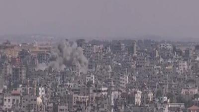 Raw: Israeli Attacks on West Bank and Gaza
