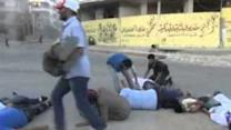 Syrian Activists Re-Enact Chemical Attack to Mark First Anniversary