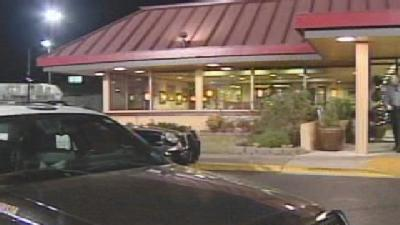 Thief Holds Denny's Employees At Gunpoint