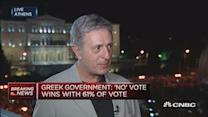 Kouloglou shocked by 'no' vote