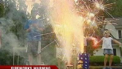 Fireworks Warning for OKC Residents